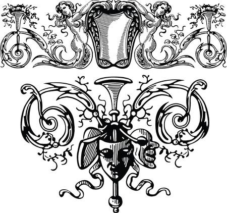 Elegant Designs Set Vector