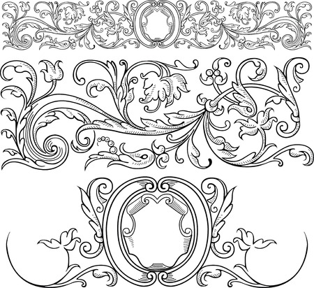 Tradition Design Elements Vector