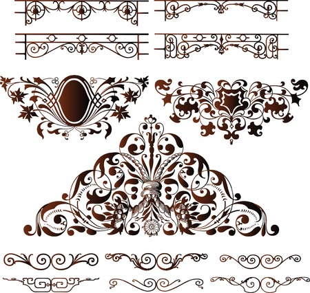 Elegant Design Elements Stock Vector - 2420107