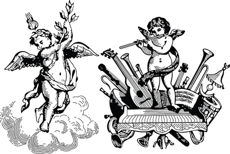 angel illustration: angels Illustration