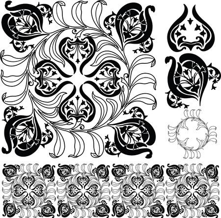 crocket: Floral Partten