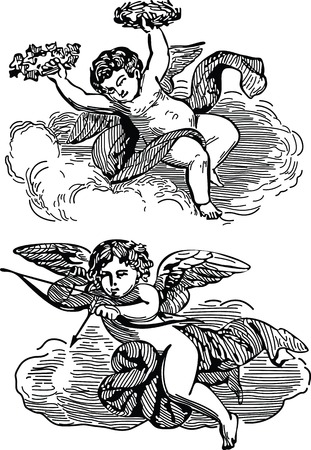 천국: angels in heaven