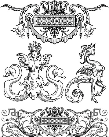 religion design textures Vector