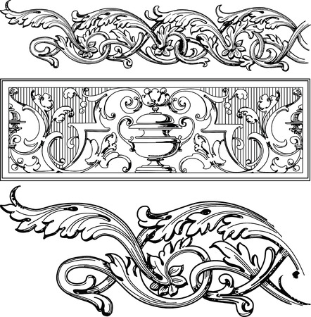 floral design elements Stock Vector - 2432786