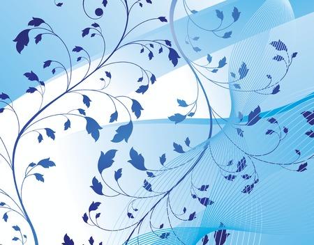 floral design background Stock Vector - 2505428