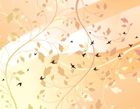 floral design background Stock Vector - 2505429