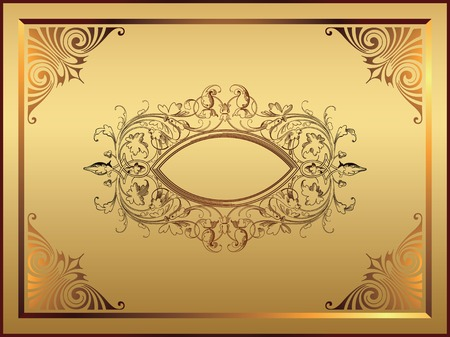 Classic Design Frame Stock Vector - 2505438