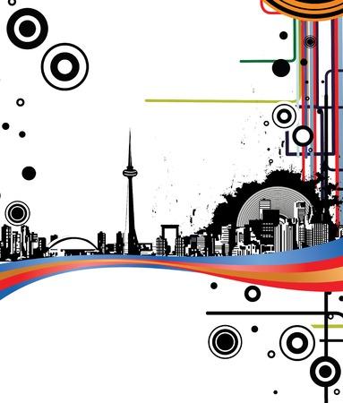 urban city Stock Vector - 2718843