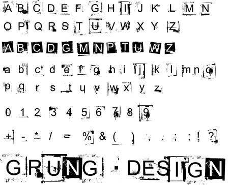 Grunge Design Elements 12