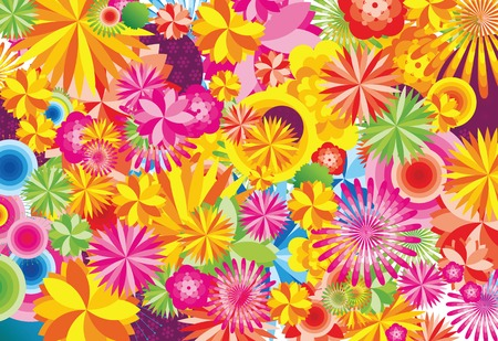 floral background Stock Vector - 2822597