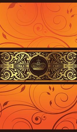 elegant design background 1-2 Stock Vector - 2822421