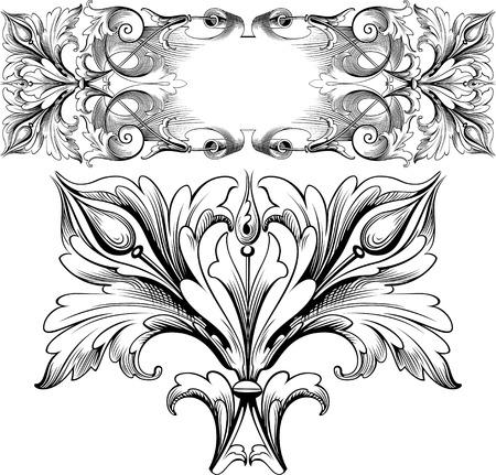 flores vintage: vintage design textures