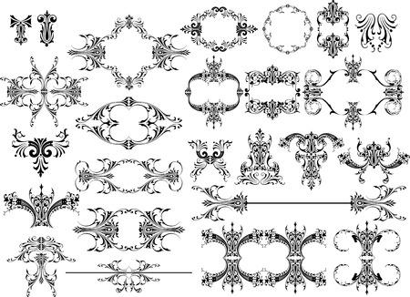 elegant design elements Vectores