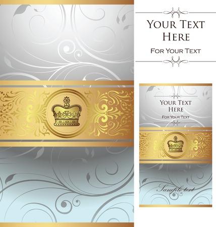 royal design pattern Stock Vector - 2909683
