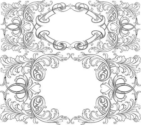 Elegante ontwerp elementen
