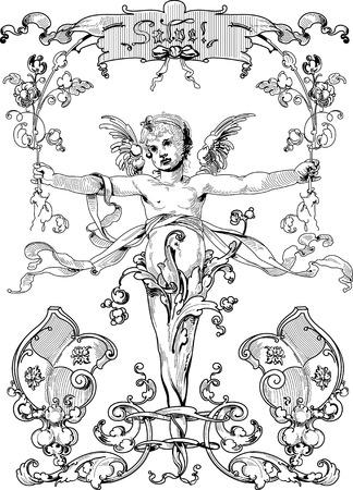 angel illustration: Angel 1-3 Illustration