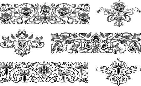 swirly: Floral Design Elements