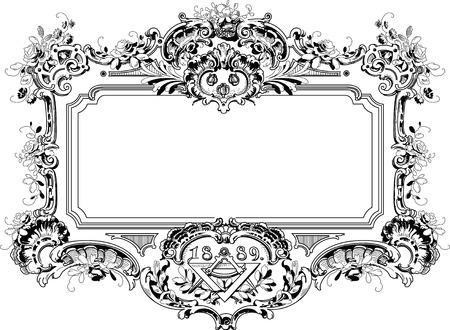 mirror frame: Vinage Frame