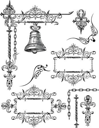 Vintage Design Elements Vectores