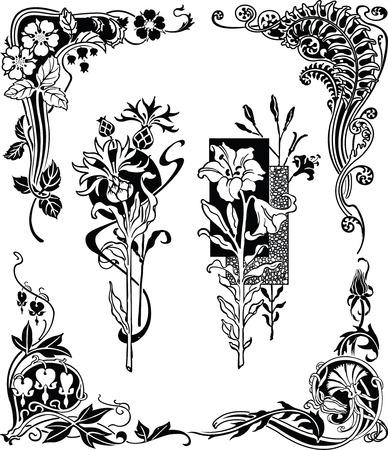 Floral Design Elements 1-2