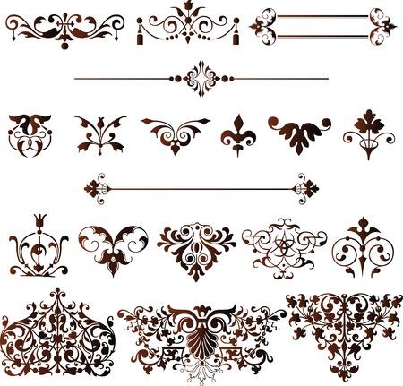 Classic Design Elements Illustration