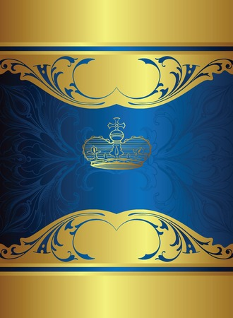 deluxe: royal design background