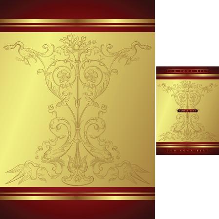 Diseño clásico de fondo Foto de archivo - 4723314
