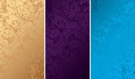 Vintage Floral Background Textures