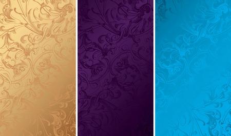 textures: Vintage Floral Background Textures