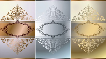 Elegant Floral Frame Background  Stock Vector - 5829118