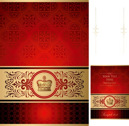 Royal Design Background Vectores