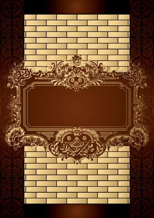 Chocolate Box Menu Cover Vector