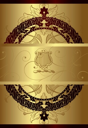 Victorian Style Floral Background 1 Vector