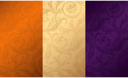 Vintage Floral Texture Background 1 Stock Vector - 8258157