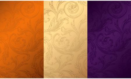 purple texture: Vintage Floral Texture Background 1
