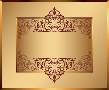 Certificate Frame Background 1 Stock Vector - 8258161