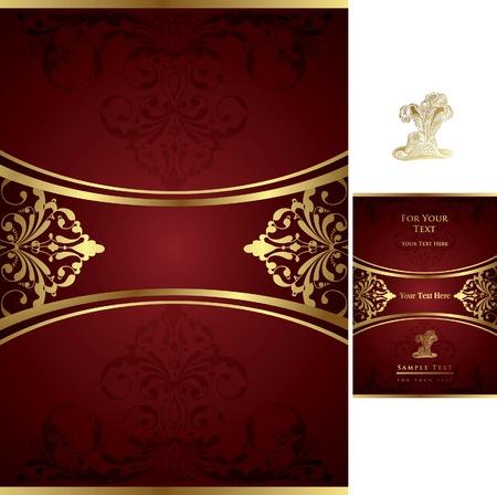 Chocolate Menu Cover Stock Vector - 8487731
