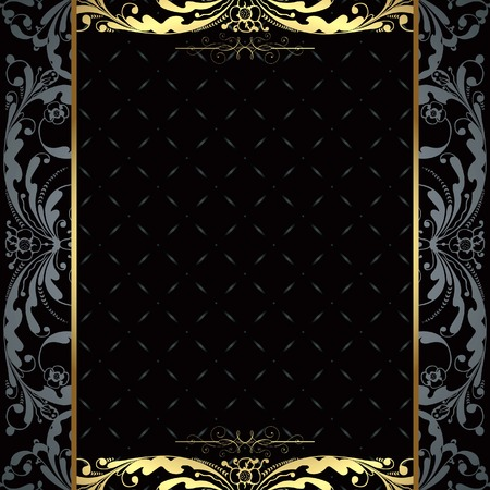 ornate gold frame: Abstract Frame Background