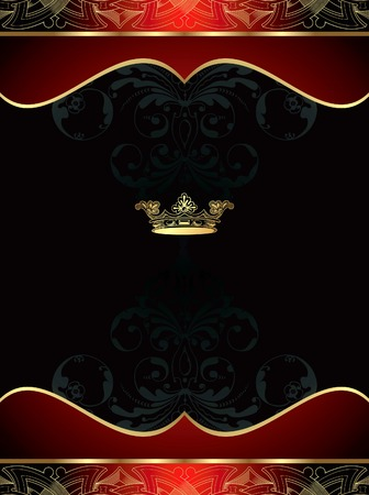 Royal Background Stock Vector - 8588754