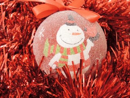 snowman decoration           Stock Photo