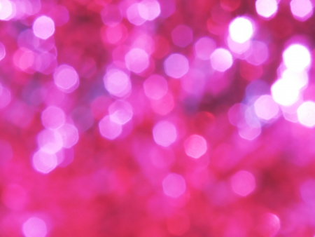 pink glittering lights background photo