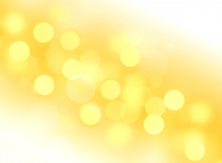 Abstract gold yellow circles stars background wallpaper Stock Photo
