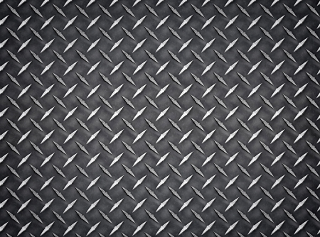 Seamless industrial diamond plate metal Background Texture photo