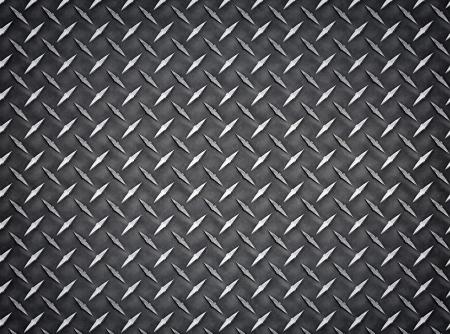 diamond plate: Seamless industrial diamond plate metal Background Texture