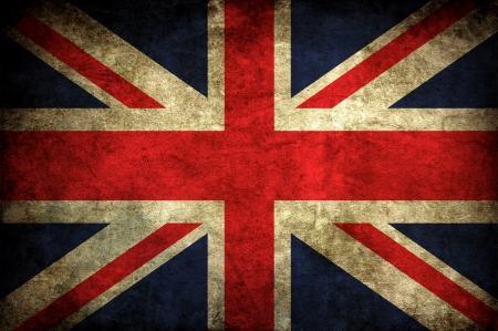 drapeau anglais: vieux millésime britannique UK National wallpaper drapeau Banque d'images