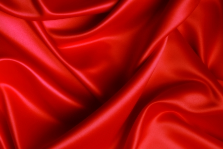 elegant fashion red silk texture background wallpaper Stock Photo