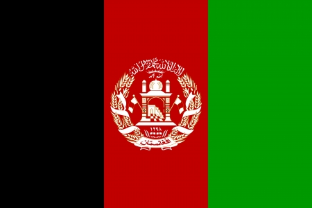 afghan flag: national flag of afghanistan country. world afghanistan background wallpaper
