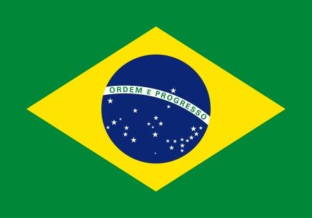 national flag of Brazil country. world Brazil background wallpaper Stock Photo