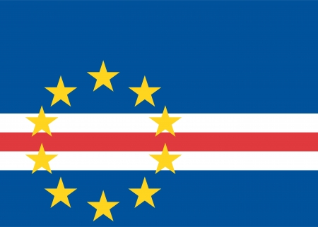 national flag of cape verde country. world cape verde background wallpaper photo