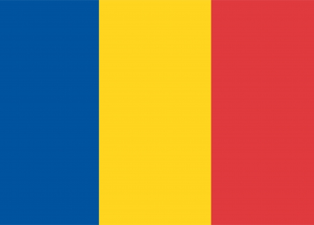 national flag of chad country. world chad background wallpaper Stock Photo - 18143141